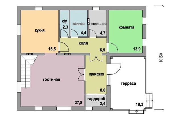Дом 169 м.кв.